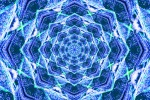 Atomic Blue Mandala