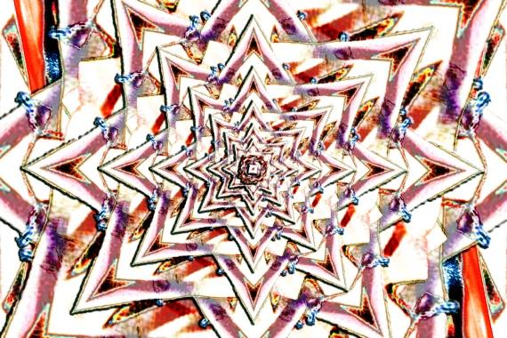 Diamond Star Tango Mandala