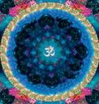 Om Eye Mandala