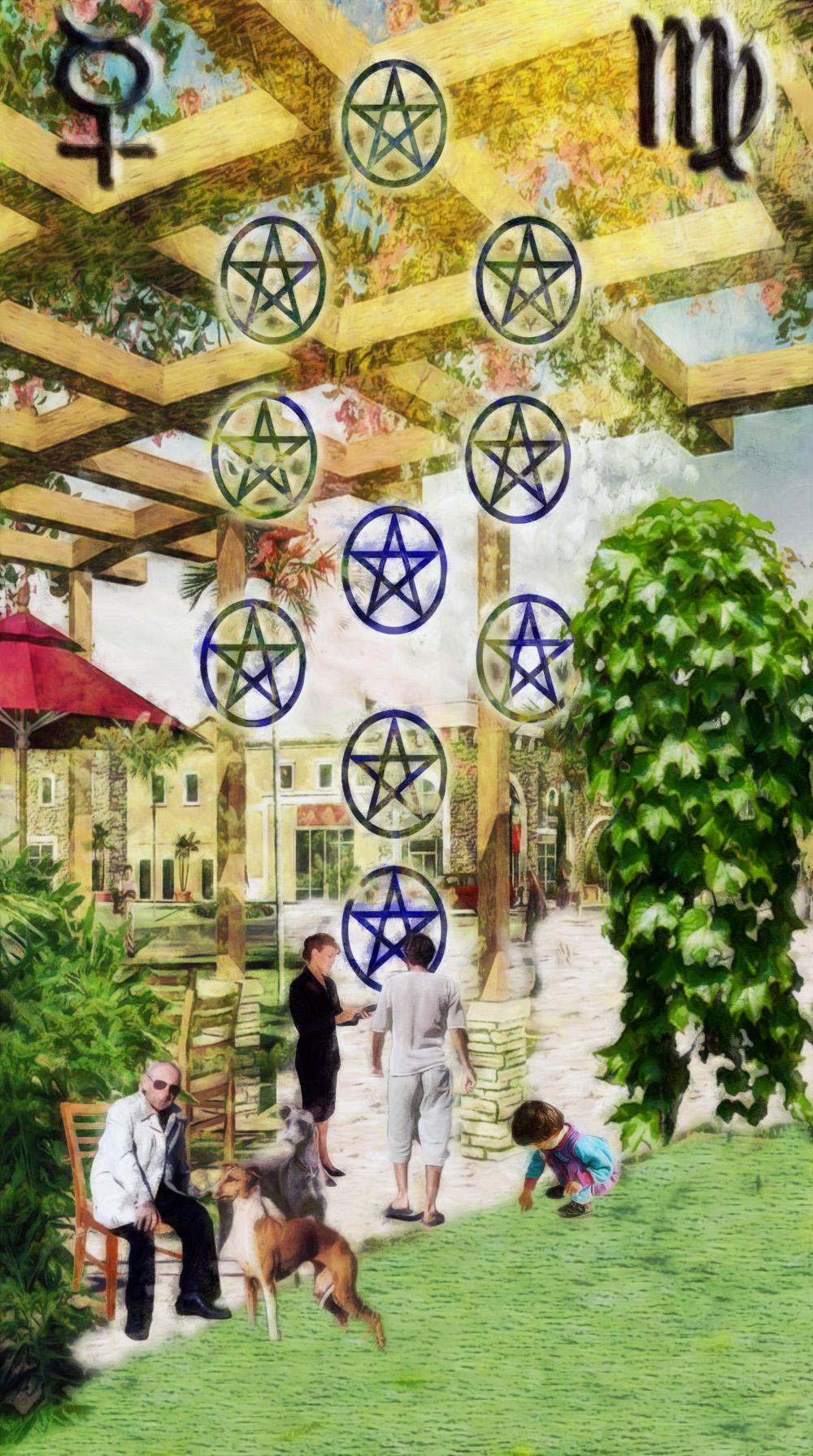 Ten Of Pentacles Reversed In A Reading