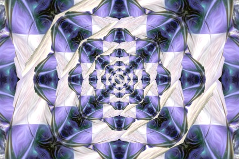 Purple Night Mandala