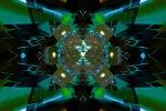 Skewed Emerald Perspective