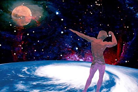 Saluting Mars