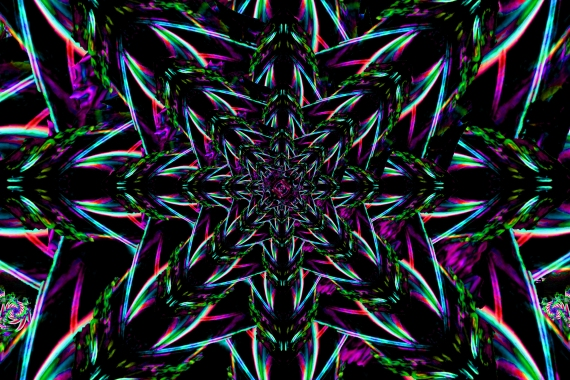 Exploding Dark Star Mandala