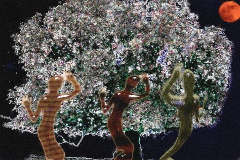 Dryads Tree Dancing