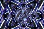 Atoms flying in a medium
