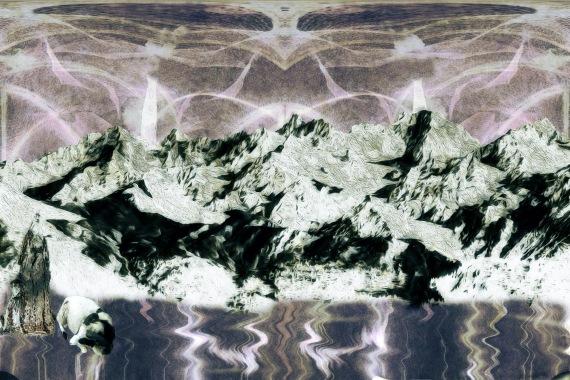 Strange Sky Mountainside