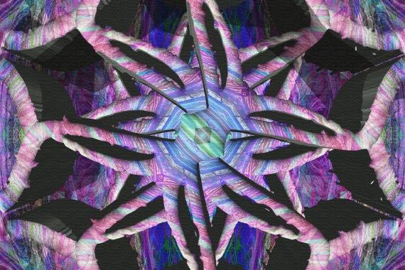 Writhing Limb Star Mandala