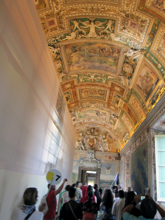 A Ceiling at the Vatican Museum
