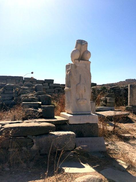 Dionysian Temple Phallus