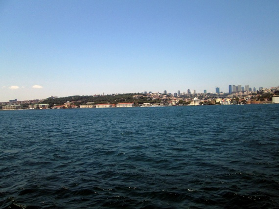 Istanbul from the Bospherous