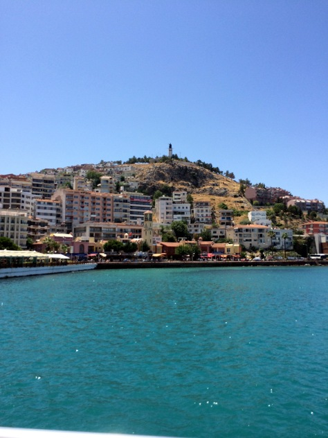 Kusadasi from the water