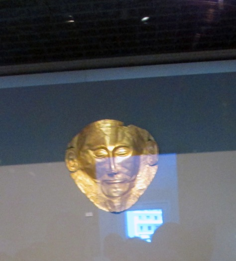 Mask of Agamemnon--Bronze Age