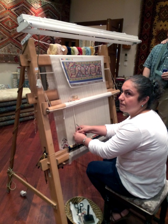 Turkish Carpet Weaving