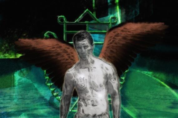 Angel Over Hidden Water (Crocell)