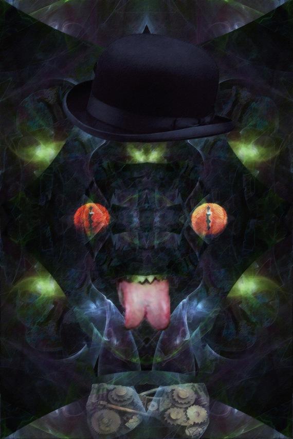 Steampunk Lizarman (redux)