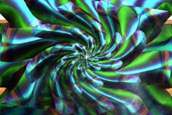 Turquoise  Dream Spiral