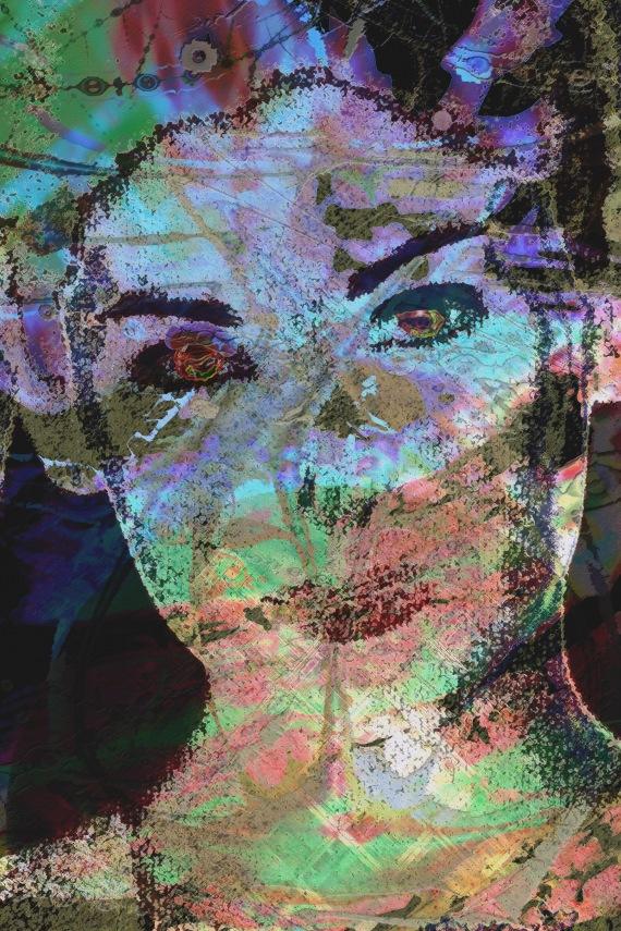 Inner Gateway Through Her Being (Redux)